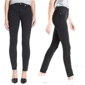 MADEWELL mid rise Black Skinny Jeans 27